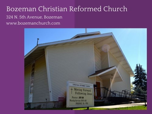 Bozeman Christian Reformed Church-1