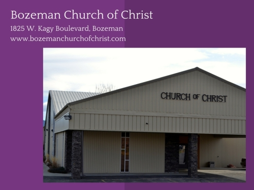 Bozeman Church of Christ-1